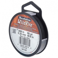 Wildfire Wire Beadalon 0.20mm Black