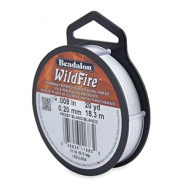 Wildfire Wire Beadalon 0.20mm Frost white