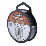 Wildfire Wire Beadalon 0.15mm Black