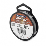 Wildfire Wire Beadalon 0.15mm Grey