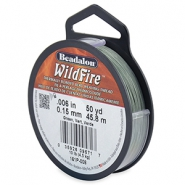 Wildfire Wire Beadalon 0.15mm Green