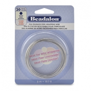 Wrapping wire Rostfreiem Stahl Beadalon 20Gauge Bight Stainless Steel