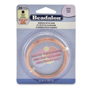 German Style Wire Beadalon 20Gauge round Copper