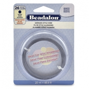 German Style Wire Beadalon 26Gauge round Hematite