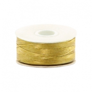 Nymo Wire 0.3mm Beadalon Gold