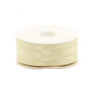 Nymo Wire 0.3mm Beadalon Cream White