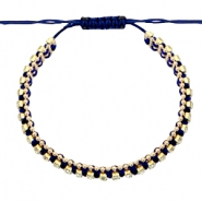 Armband Strass Dark blue-crystal