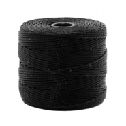 Nylon S-Lon Kordel 0.6mm Black