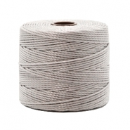 Nylon S-Lon Kordel 0.6mm Silver grey
