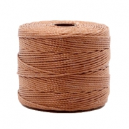 Nylon S-Lon Kordel 0.6mm Copper brown