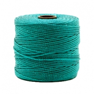 Nylon S-Lon Kordel 0.6mm Teal green