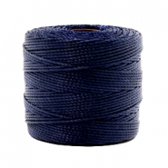 Nylon S-Lon Kordel 0.6mm Dark navy blue