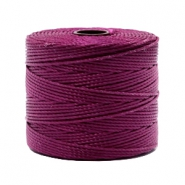 Nylon S-Lon Kordel 0.6mm Wineberry red