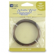 Artistic Wire 14 Gauge Antique brass