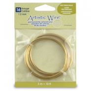 Artistic Wire 16 Gauge Tarnish resistant brass