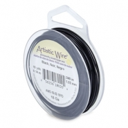 Artistic Wire 18 Gauge Black