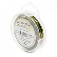 Artistic Wire 18 Gauge Olive green