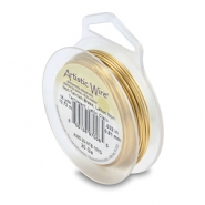Artistic Wire 20 Gauge Tarnish resistant brass