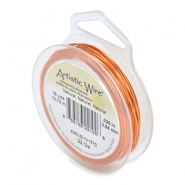 Artistic Wire 22 Gauge Natural copper
