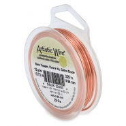 Artistic Wire 22 Gauge Bare copper