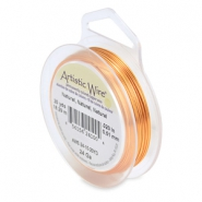 Artistic Wire 24 Gauge Natural copper