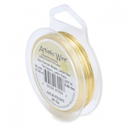 Artistic Wire 26 Gauge Tarnish resistant brass