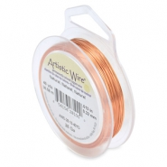 Artistic Wire 28 Gauge Natural copper