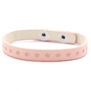 Armband Sterne Light blush pink