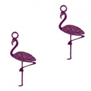 Anhänger Bohemian Flamingo Dark purple