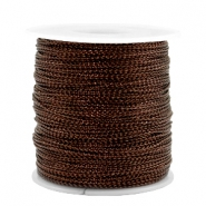 Trendy Kordel Metal Style Wire 0.5mm Copper brown