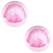 Cabochons Basic 20mm Shell-pink