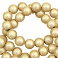 3D Miracle Perlen 12mm Champagne gold beige