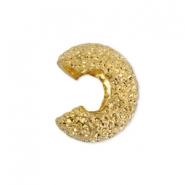 Quetsch-Kaschierperlen Sparkle Beadalon 4mm Gold
