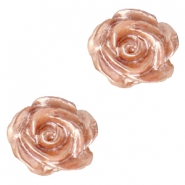 Perlen Rosen 6mm Weiss-ginger rose pearl shine