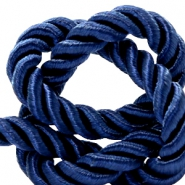 Trendy Kordel 10 mm Weave Dark blue