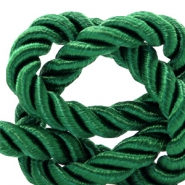 Trendy Kordel 10 mm Weave Classic green