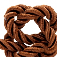 Trendy Kordel 6 mm Weave Light chocolate brown
