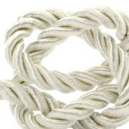 Trendy Kordel 6 mm Weave Lightning white