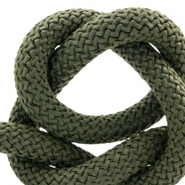 Segeltau 10 mm Khaki green