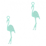 Anhänger Bohemian Flamingo Fresh mint green