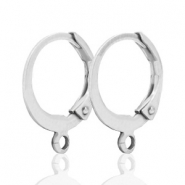 Ohrringe Design Quality 12mm silver plated