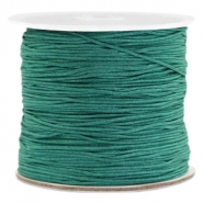 Band Macramé 0.7mm Emerald green