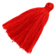 Basic Quaste Perlen 3cm Red