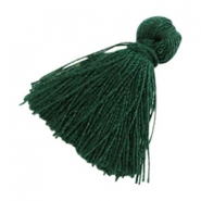 Basic Quaste Perlen 2cm Dark green