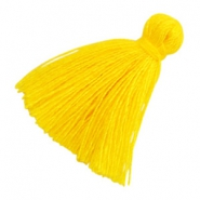 Basic Quaste Perlen 2cm Yellow