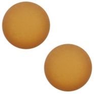 12 mm classic Polaris Elements Cabochon matt Camel brown
