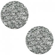 12 mm flach Polaris Elements Cabochon Goldstein Gallant grey