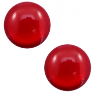 7 mm classic Polaris Elements Cabochon soft tone shiny Warm red