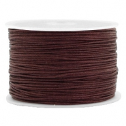 Band Macramé 1.0mm Tawny brown