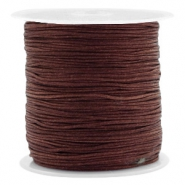 Band Macramé 0.8mm Tawny brown